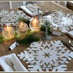 A Simple Christmas Tablescape on a Low Budget