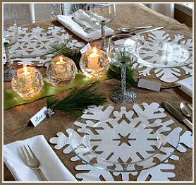 Simple Christmas Tablescape Idea Image