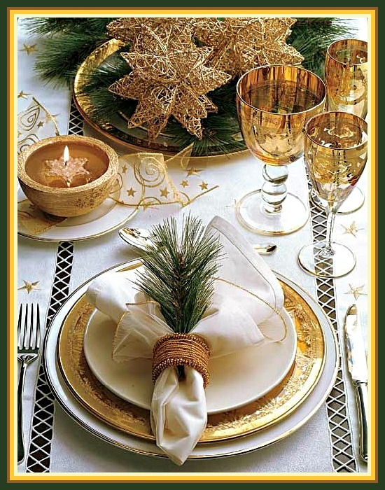 Dinnerware Archives | Christmas Tablescape Decor