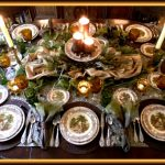 Vintage Friendly Village Tablescape