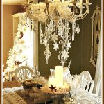 White Christmas Coastal Vintage Tablescape Ideas