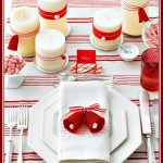 Red & White Table Setting Ideas for a Simple Christmas Tablescape