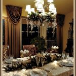 Elegant Silver Christmas Tablescape