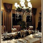 Elegant Silver Christmas Tablescape