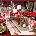 Create a Rustic Plaid Christmas Tablescape