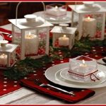 We Love Lanterns | Simple White Lantern Christmas Tablescape