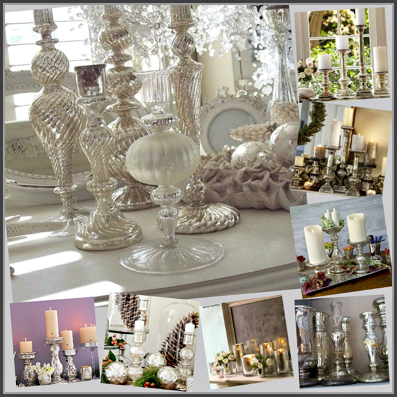 White Christmas Candle Light Christmas Tablescape Decor