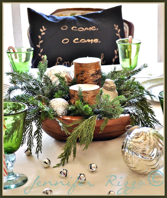 Christmas Decor For Dining Table