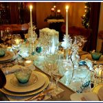 Snowflakes and Ice Tablescape
