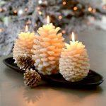 White Christmas Candle Light