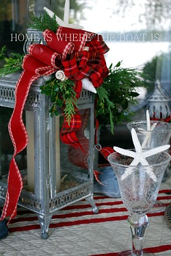 By the Sea Coastal Tablescapes for Christmas