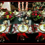 A Traditional Plaid Christmas Tablescape